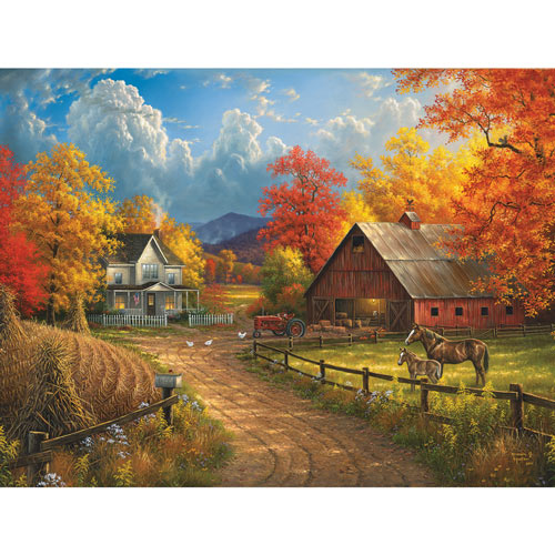 Country Blessings 500 Piece Jigsaw Puzzle