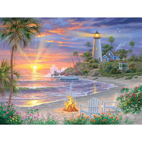 Honeymoon Sunset 500 Piece Jigsaw Puzzle
