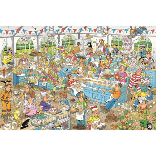 Clash of the Bakers 1500 Piece Jigsaw Puzzle