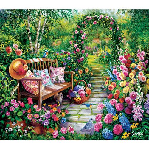 Kim's Garden 1000 Piece Jigsaw Puzzle