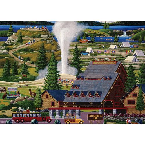 Old Faithful 300 Large Piece Nostalgia Jigsaw Puzzle