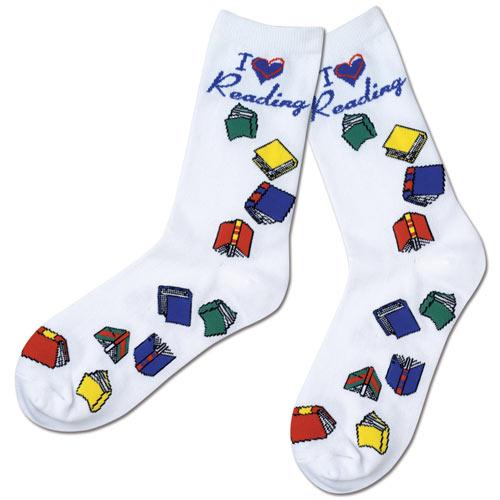 I Love Reading Socks