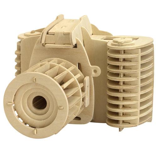 Camera 3D Wooden Puzzle