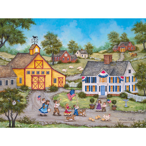 The Children's Parade 1000 Piece Jigsaw Puzzle
