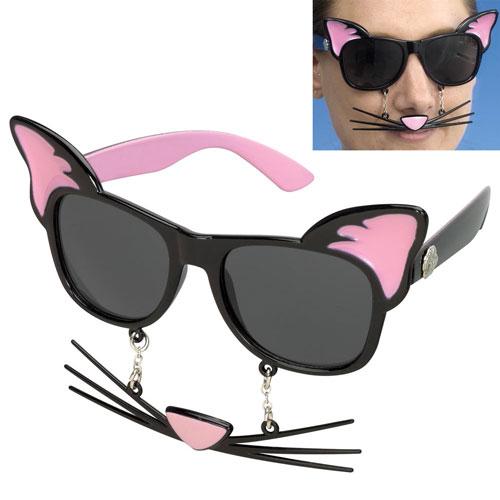 Cat Sun-Staches® Glasses