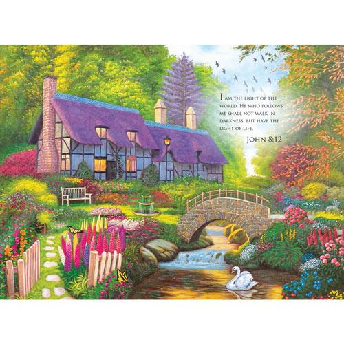 Secret Cottage 300 Large Piece Jigsaw Puzzle