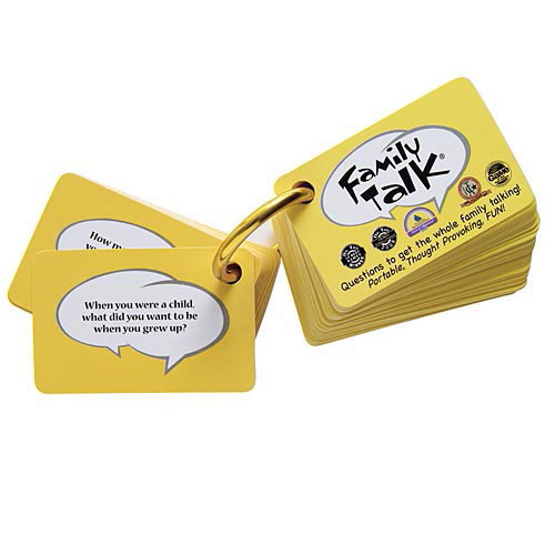 Family Talk Card Game