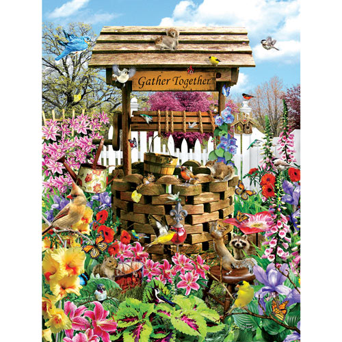 Wishing Well 1000 Piece Jigsaw Puzzle