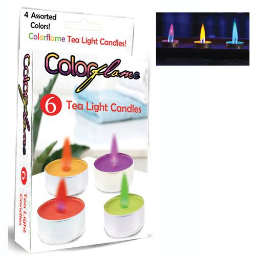 Colorflame Tea Light Candles