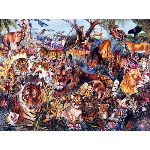 Animal Fantasia 300 Large Piece Jigsaw Puzzle
