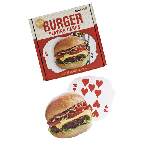 Hamburger Playing Cards