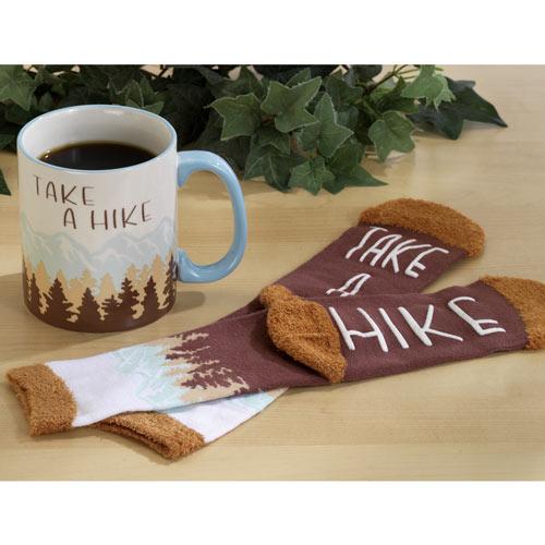 Take A Hike Mug and Sock Set