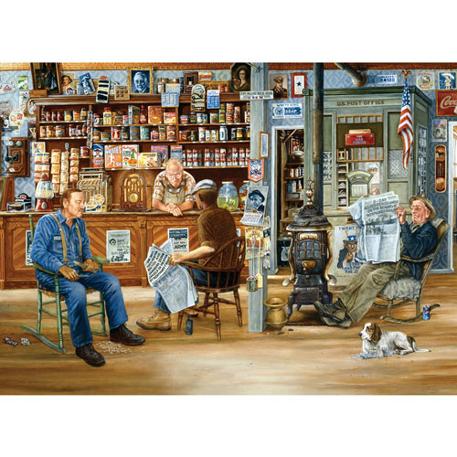 A Day at the Shop 500 Piece Jigsaw Puzzle