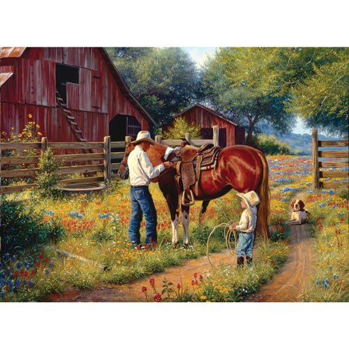 Learning the Ropes 500 Piece Jigsaw Puzzle