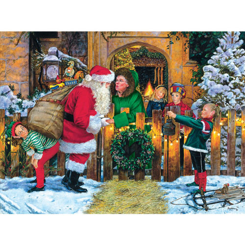 Off to Work 300 Large Piece Jigsaw Puzzle