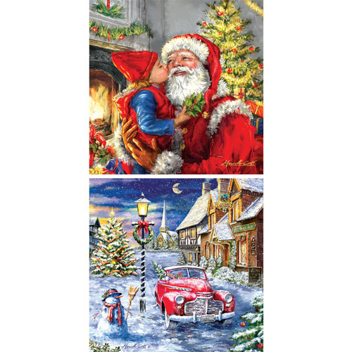 Set of 2: Marcello Corti 500 Piece Jigsaw Puzzles