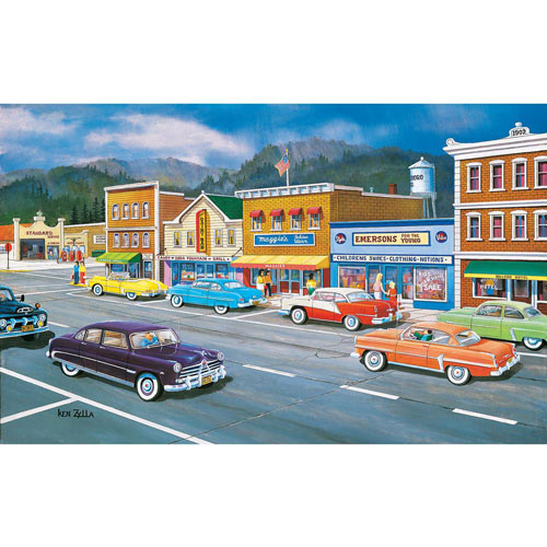 Main Street Memories 550 Piece Jigsaw Puzzle