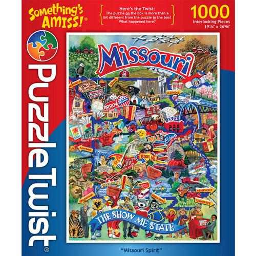 Missouri Spirit 1000 Piece Jigsaw Puzzle