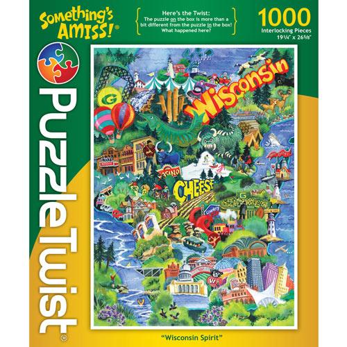 Wisconsin Spirit 1000 Piece Jigsaw Puzzle