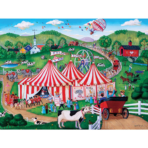 Jolly Time Circus 300 Large Piece Jigsaw Puzzle