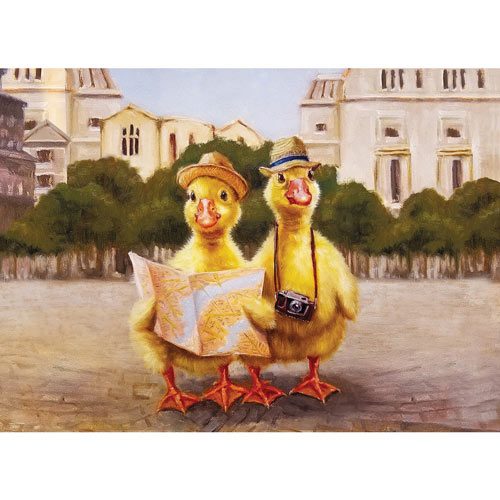 Duck Tours 500 Piece Jigsaw Puzzle