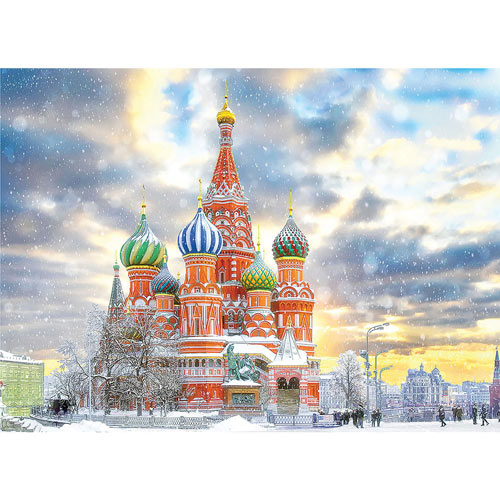 Moscow, Saint Basil's Cathedral 1000 Piece Jigsaw Puzzle