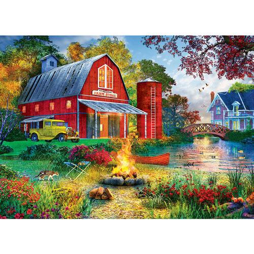 Old MacDonald's Farm Store 1000 Piece Jigsaw Puzzle