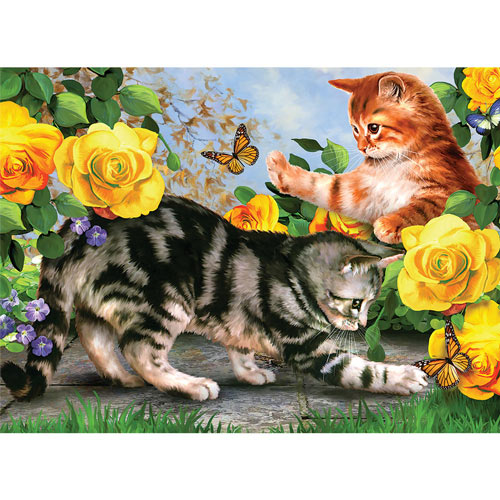 Paint By Number Kit - Kitten Play