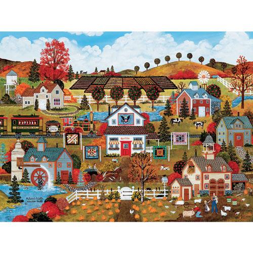 Autumn's Palette 550 Piece Jigsaw Puzzle