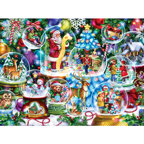 Snow Globe Collection 1000 Piece Jigsaw Puzzle