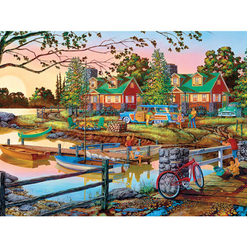Away from it All 550 Piece Jigsaw Puzzle