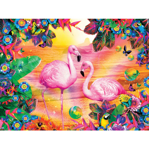 Pretty in Pink 300 Large Piece Jigsaw Puzzle