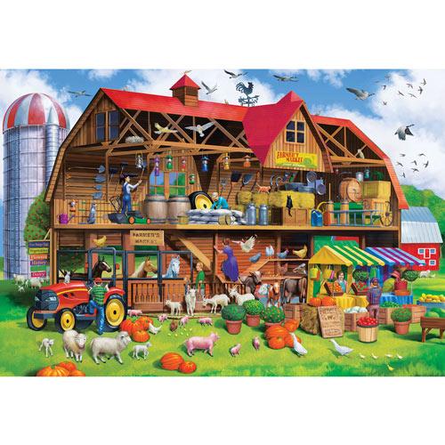 Family Barn 1000 Piece Jigsaw Puzzle
