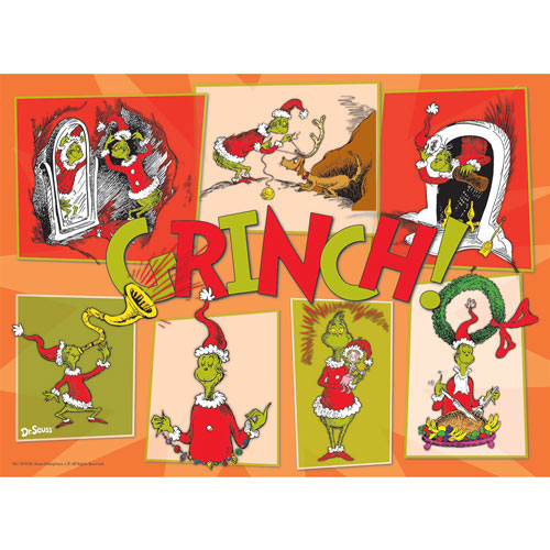 The Grinch 100 Large Piece Jigsaw Puzzle