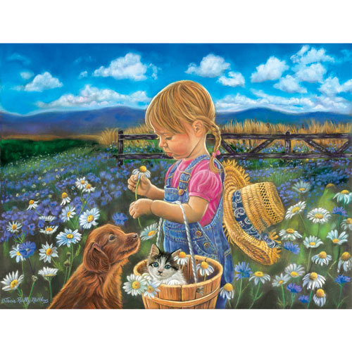 Country Girl 300 Large Piece Jigsaw Puzzle