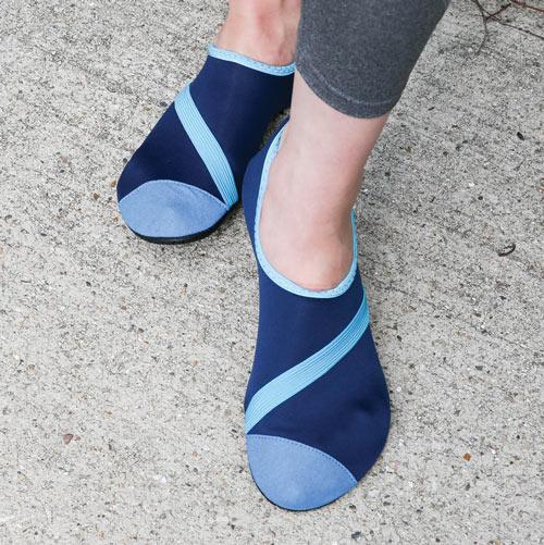 Fit Kicks Navy Shoes
