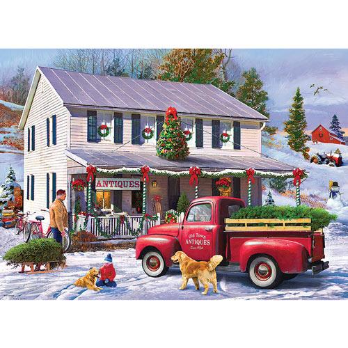 Christmas Antique Shop 1000 Piece Jigsaw Puzzle