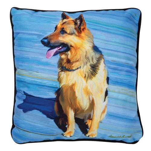 Large Dog Pillow - German Shepherd