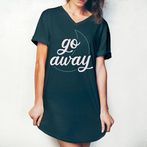 Go Away Sleep Shirt