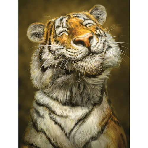 Smiling Tiger 300 Large Piece Jigsaw Puzzle