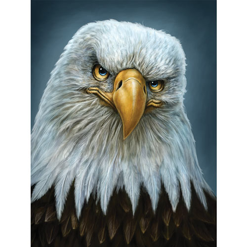 Earnest Eagle 300 Large Piece Jigsaw Puzzle