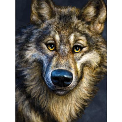 Winsome Wolf 500 Piece Jigsaw Puzzle