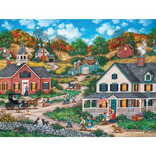 School Days 300 Large Piece Jigsaw Puzzle