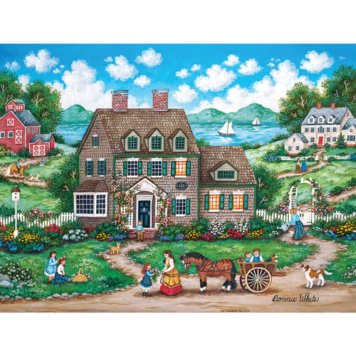 Cottage Gardens 300 Large Piece Jigsaw Puzzle