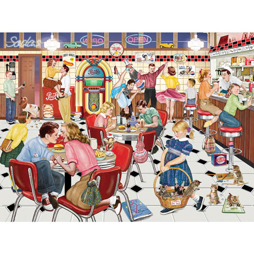 I'm Telling Dad On You 550 Piece Jigsaw Puzzle