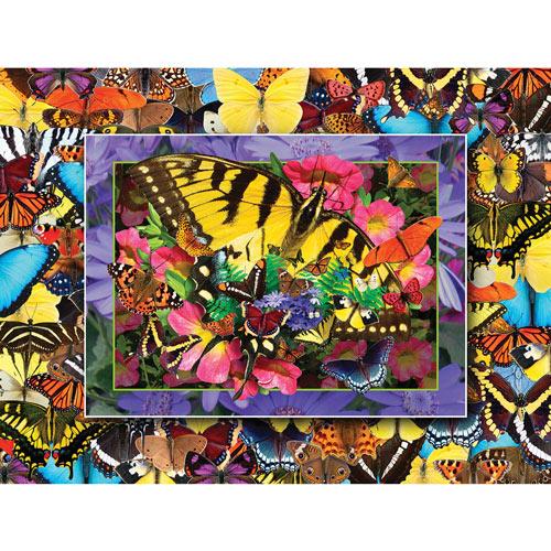 Butterfly Heaven 550 Piece Jigsaw Puzzle