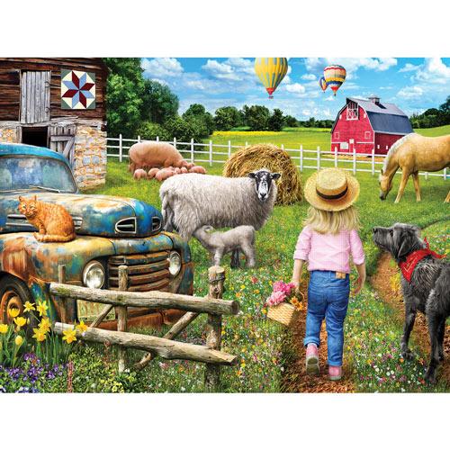 A Day On The Farm 750 Piece Jigsaw Puzzle