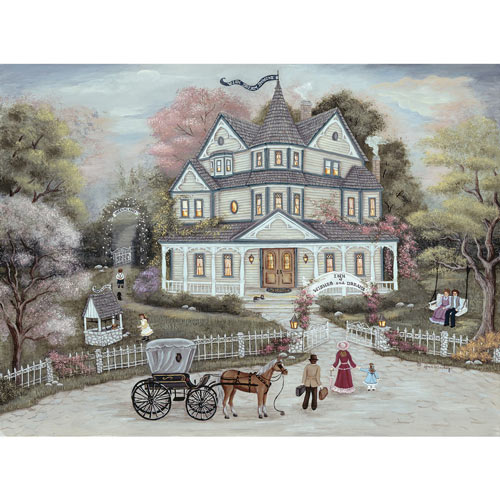 The Inn Of Wishes & Dreams 750 Piece Jigsaw Puzzle