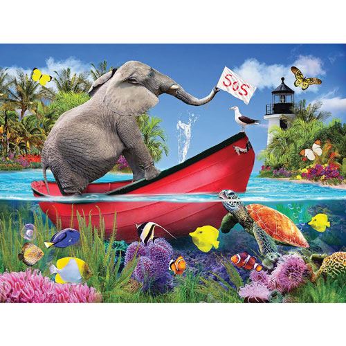 Taking on Water 1000 Piece Jigsaw Puzzle