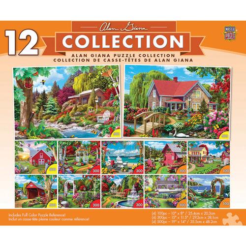 Alan Giana 12 Pack Puzzle Bundle